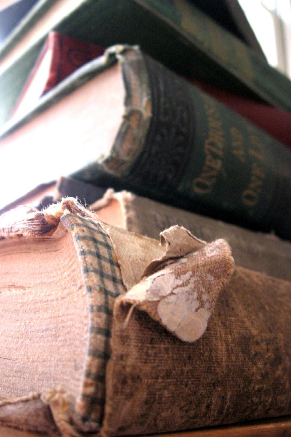 Download Free Stock HD Photo of Pile of Old Books Online