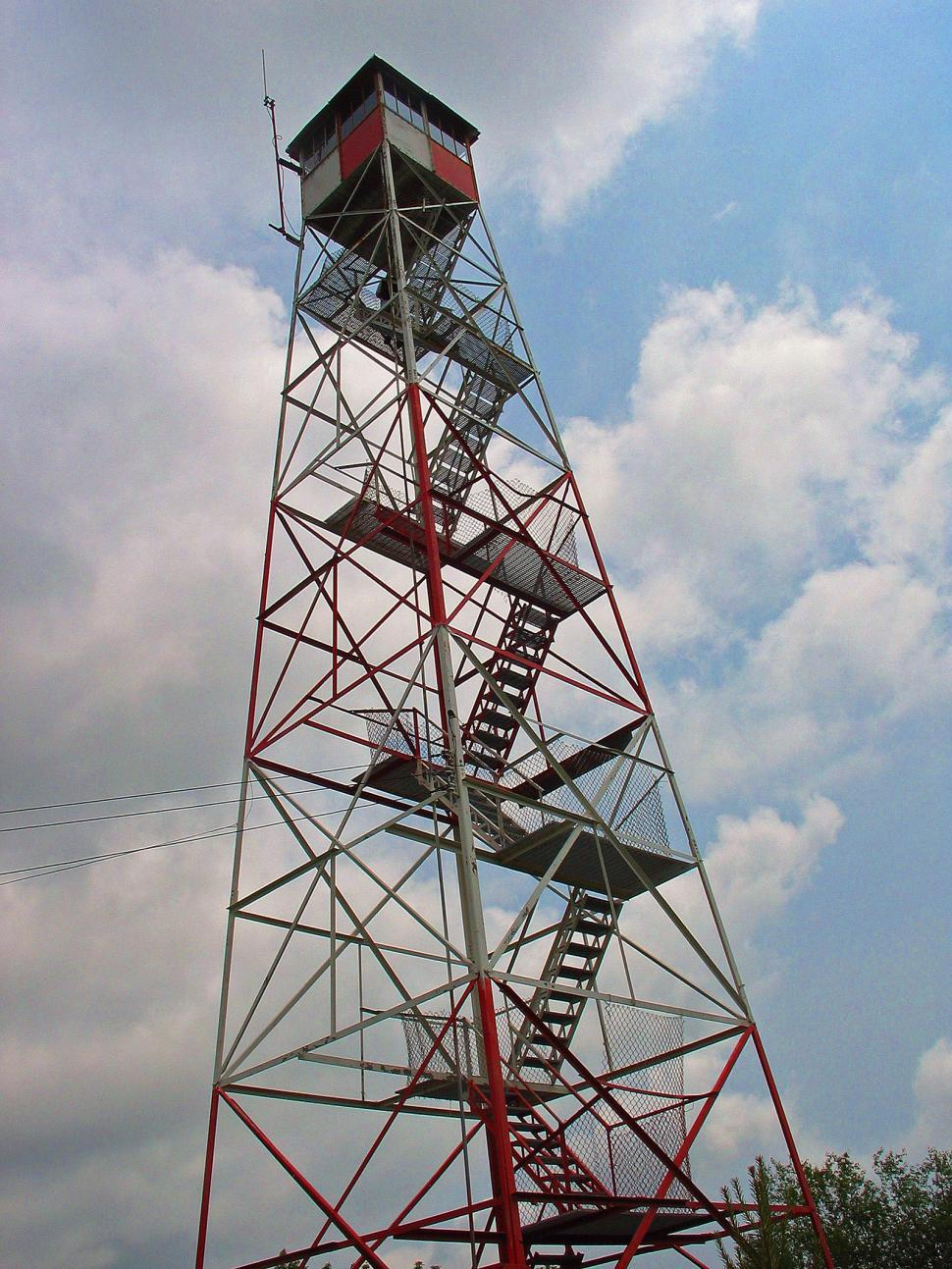 Download Free Stock Photo of Catfish Fire Tower