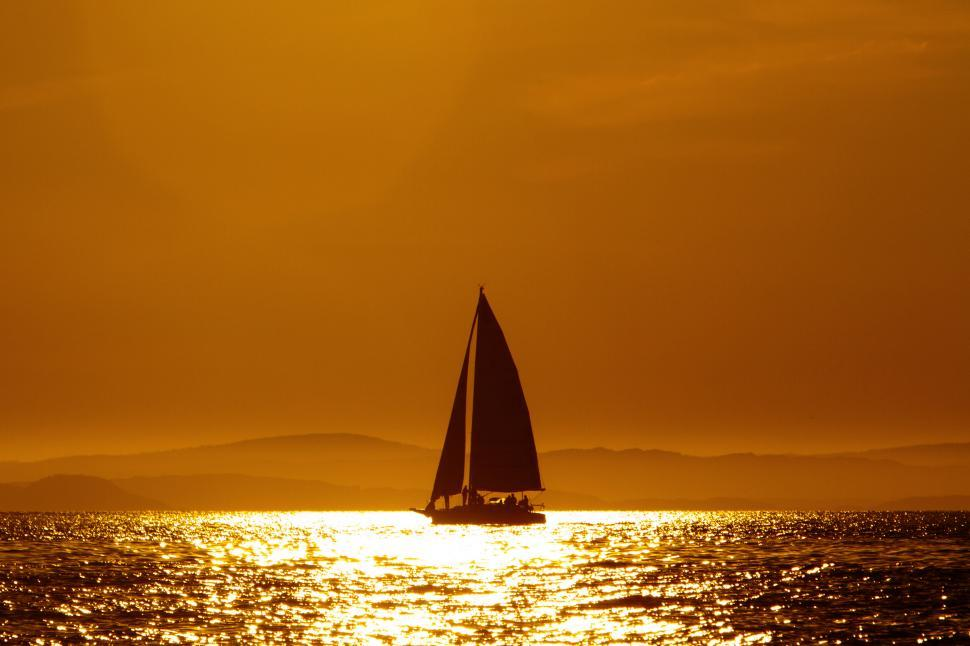 Download Free Stock Photo of Sailing