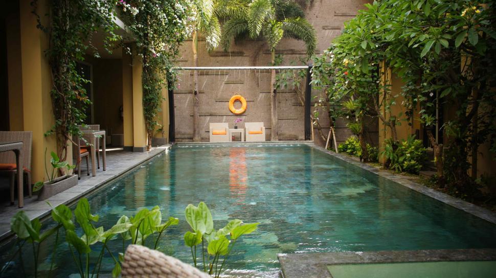 Download Free Stock Photo of Bali Pool