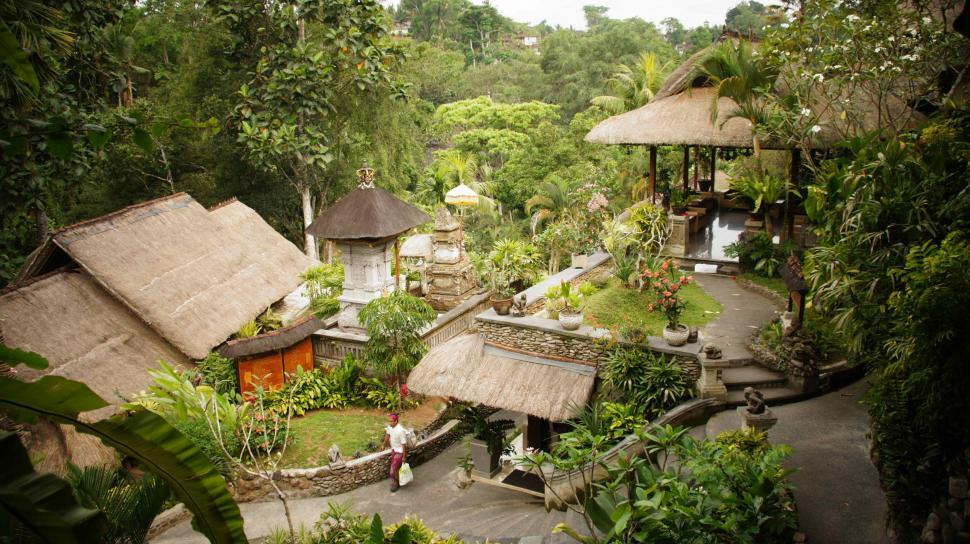 Download Free Stock HD Photo of Village in Bali Online