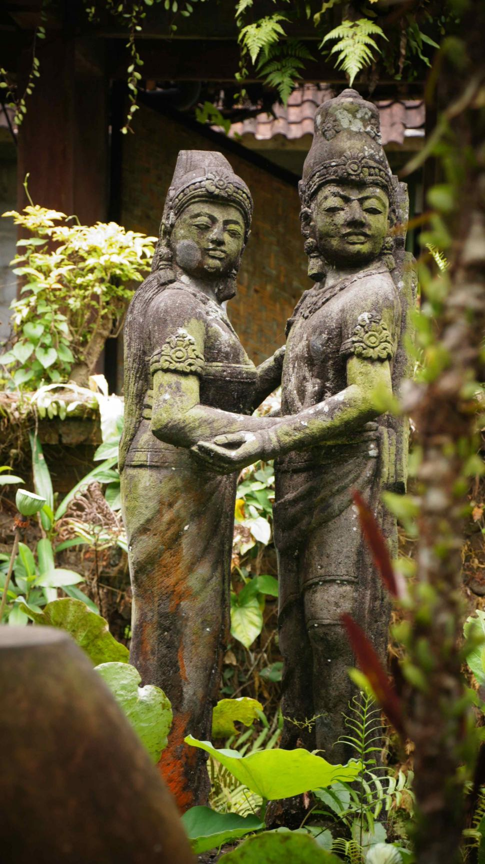 Download Free Stock Photo of Bali Statues