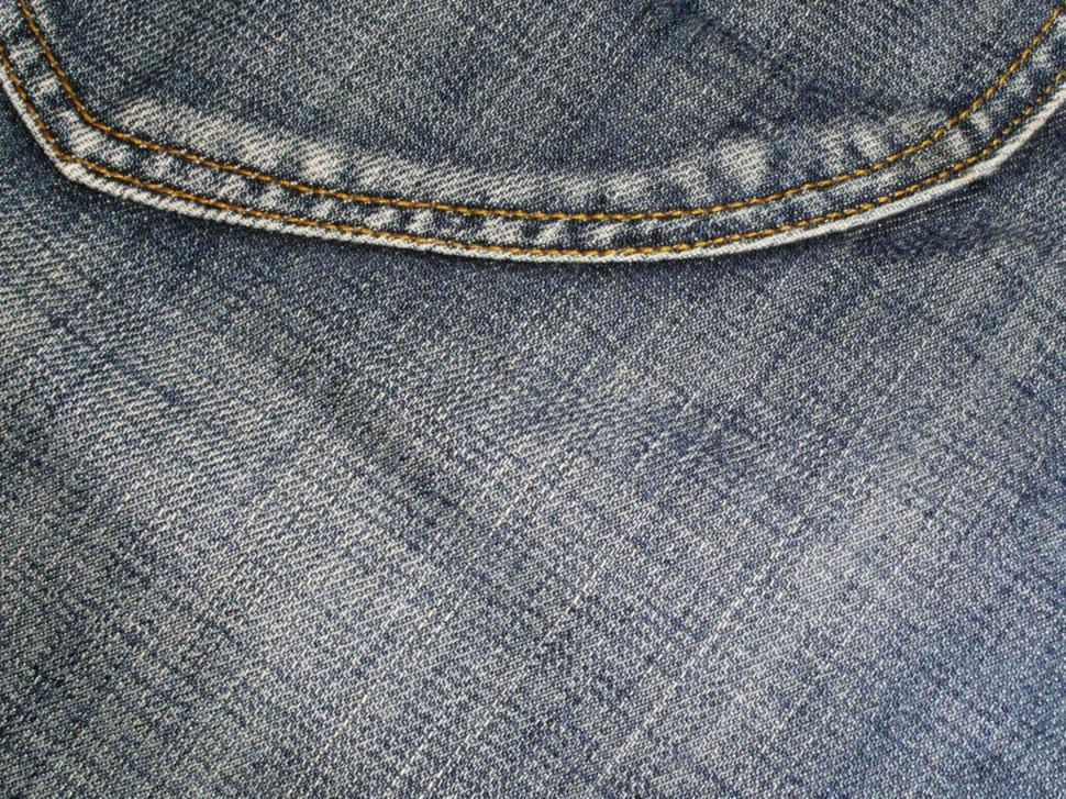 Download Free Stock Photo of Denim Jeans Pocket Close-up