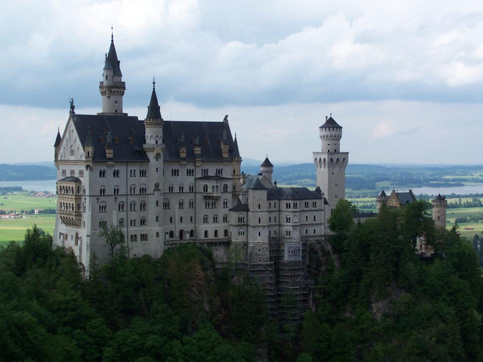 Download Free Stock Photo of Neuschwanstein Castle in Germany