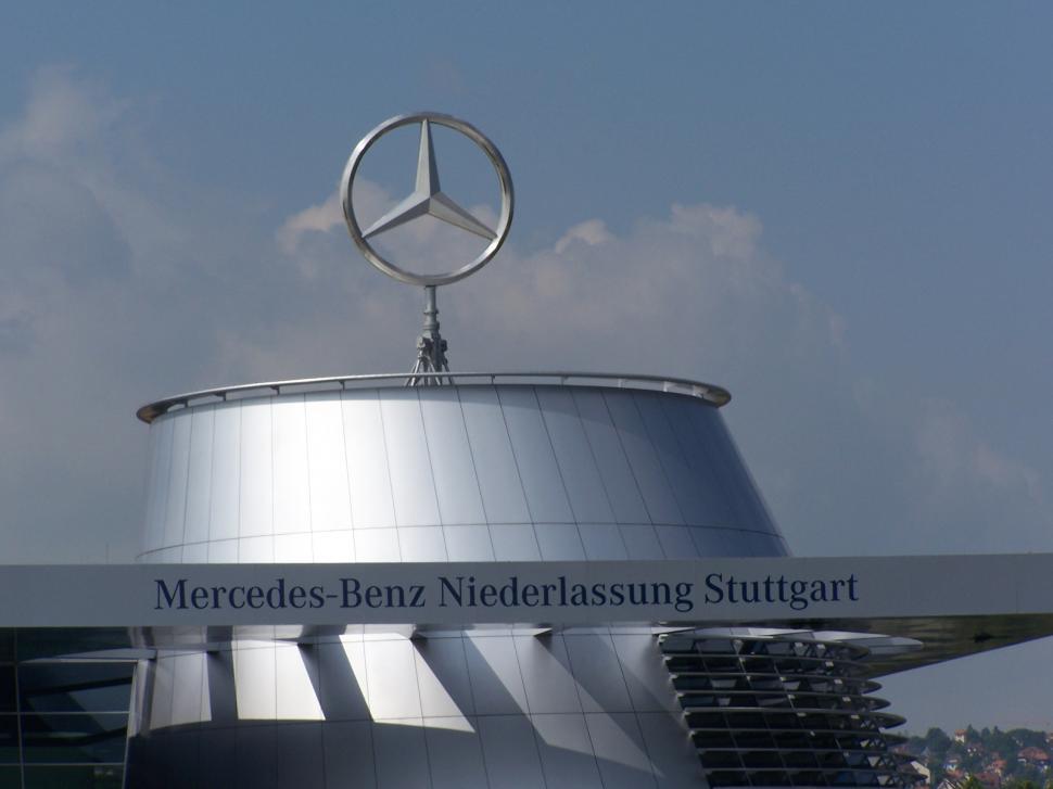 Download Free Stock Photo of Mercedes Benz Museum in Stuttgart, Germany