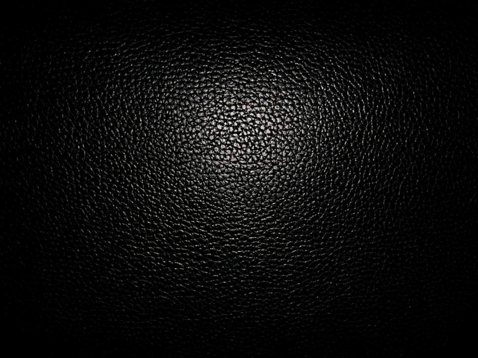 Download Free Stock Photo of Black Leather Texture