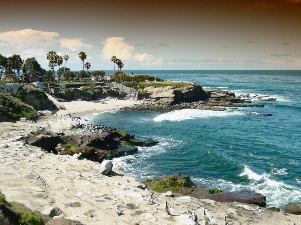 Download Free Stock HD Photo of Beach Ocean Waves Online