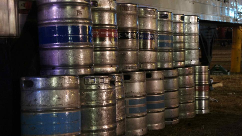 Download Free Stock HD Photo of Empty Beer Kegs Online