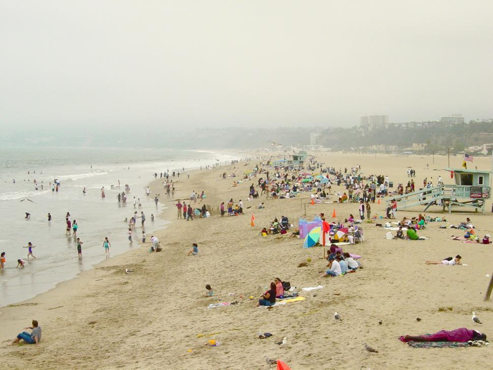 Download Free Stock Photo of A Day at the Beach