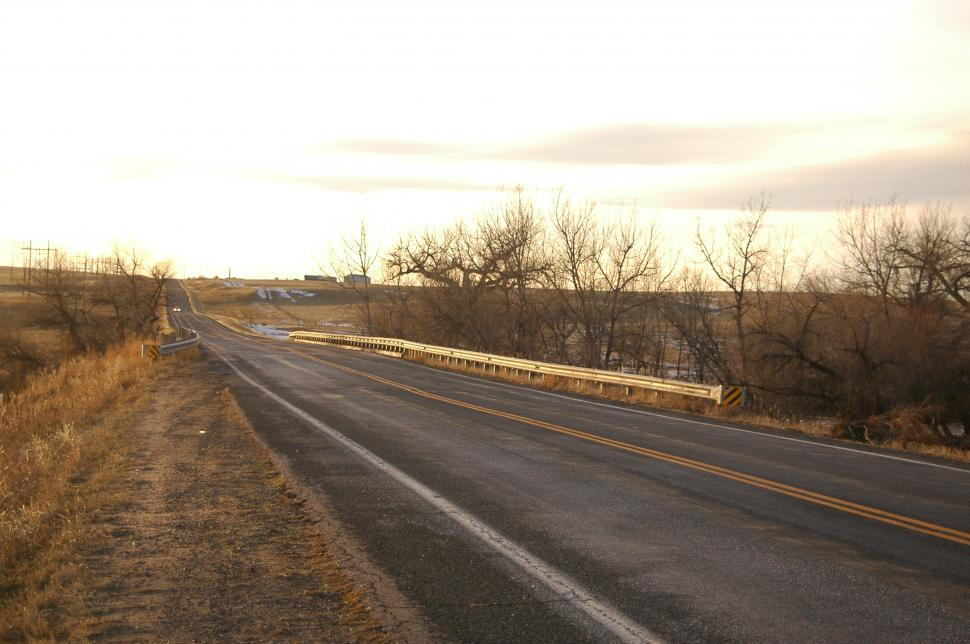 Download Free Stock HD Photo of Lonely Desolate Road Online