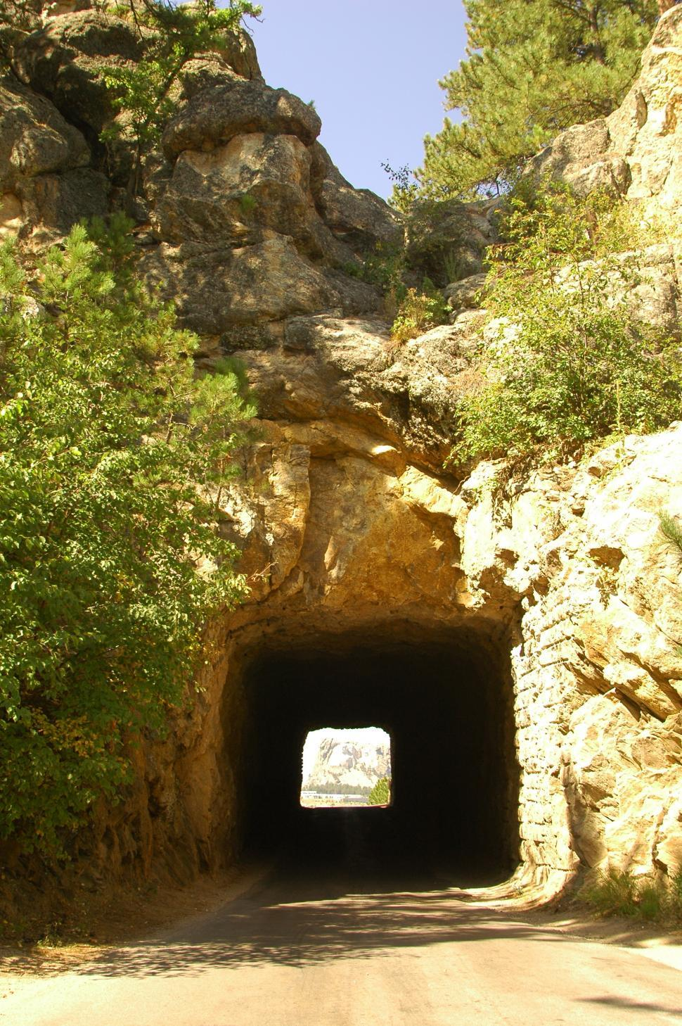 Download Free Stock HD Photo of Tunnel Carrved in Rock Online