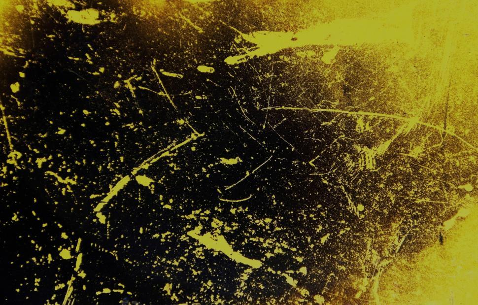 Download Free Stock Photo of Dirty Yellow Grunge Texture