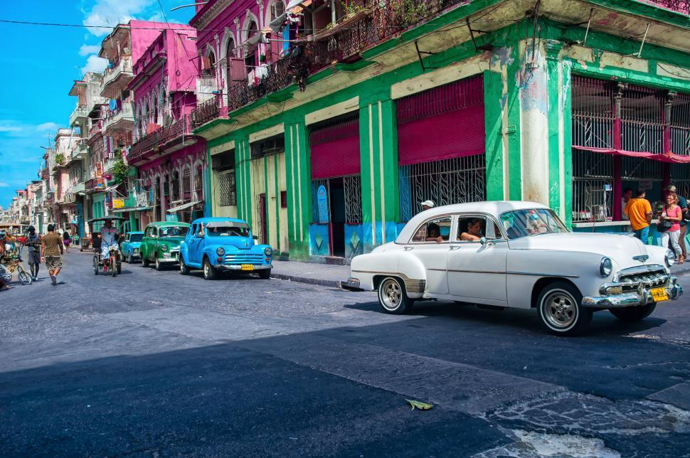 Download Free Stock Photo of Colorful Havana, Cuba