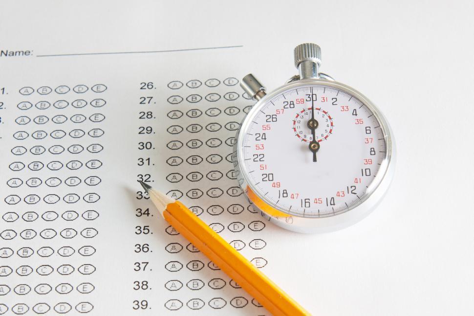Download Free Stock HD Photo of School test Online