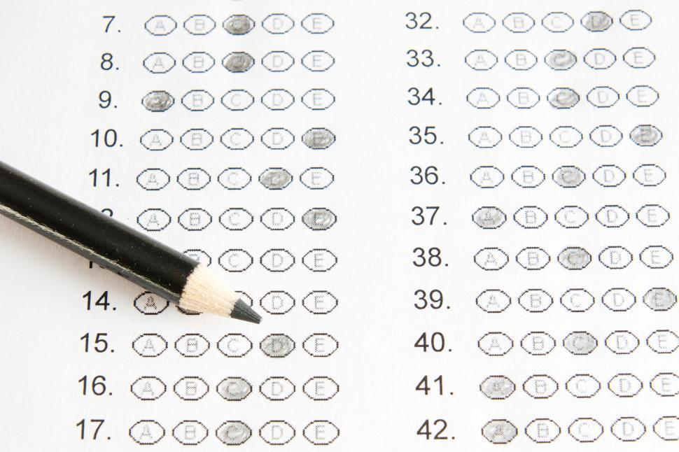 Download Free Stock Photo of School test