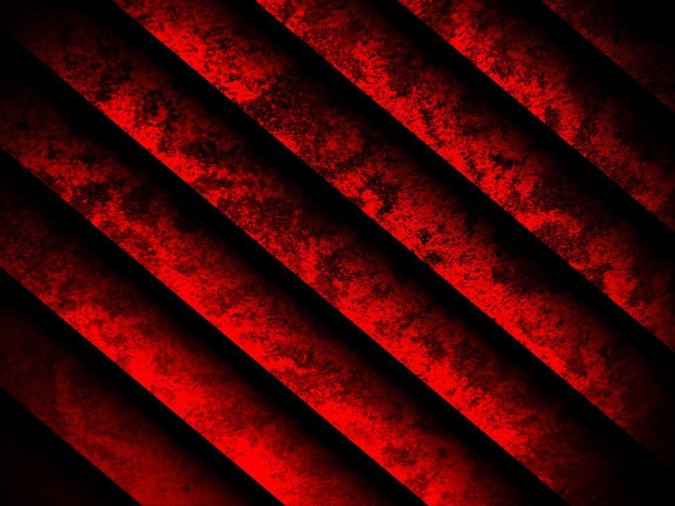 Download Free Stock Photo of Red and Black Diagonal Grunge Background