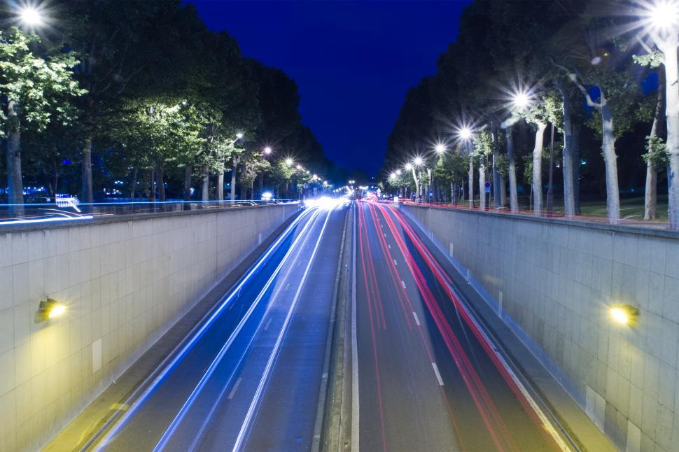 Download Free Stock Photo of Car lights