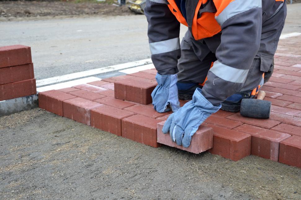 Download Free Stock Photo of Pavement bricks