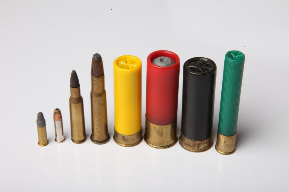 Download Free Stock Photo of Bullets