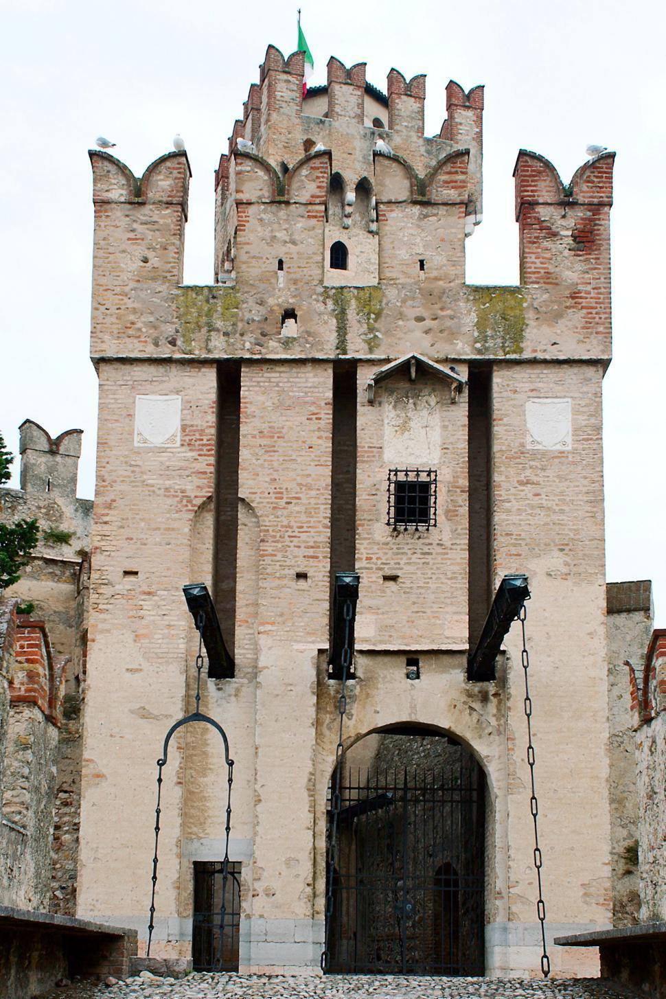 Download Free Stock Photo of Castle Scaglieri