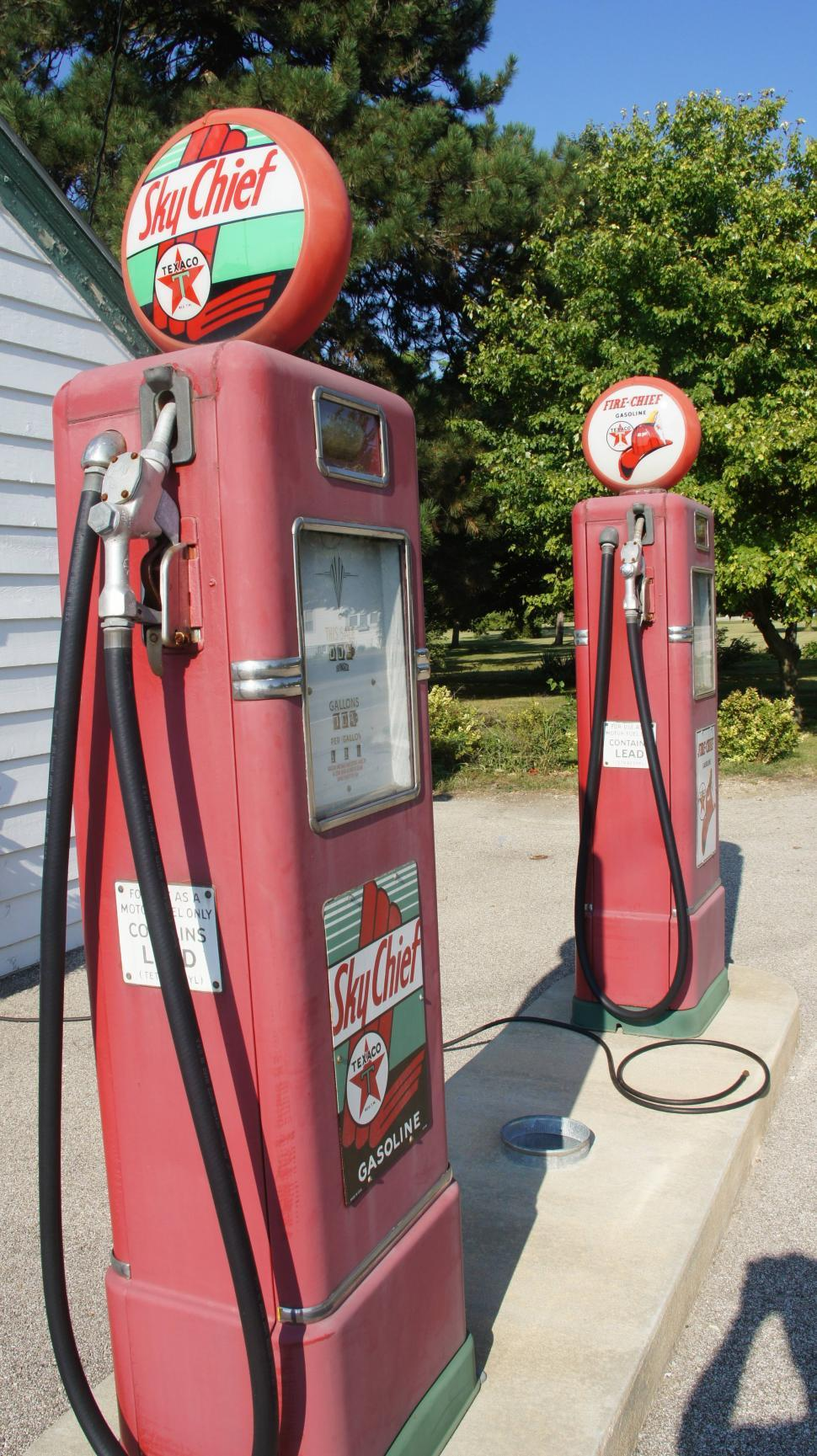 Download Free Stock Photo of Old Texeco Gas Station on Route 66