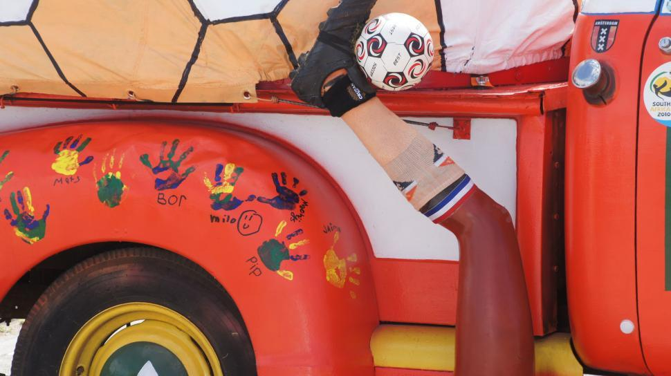 Download Free Stock Photo of World Cup Truck