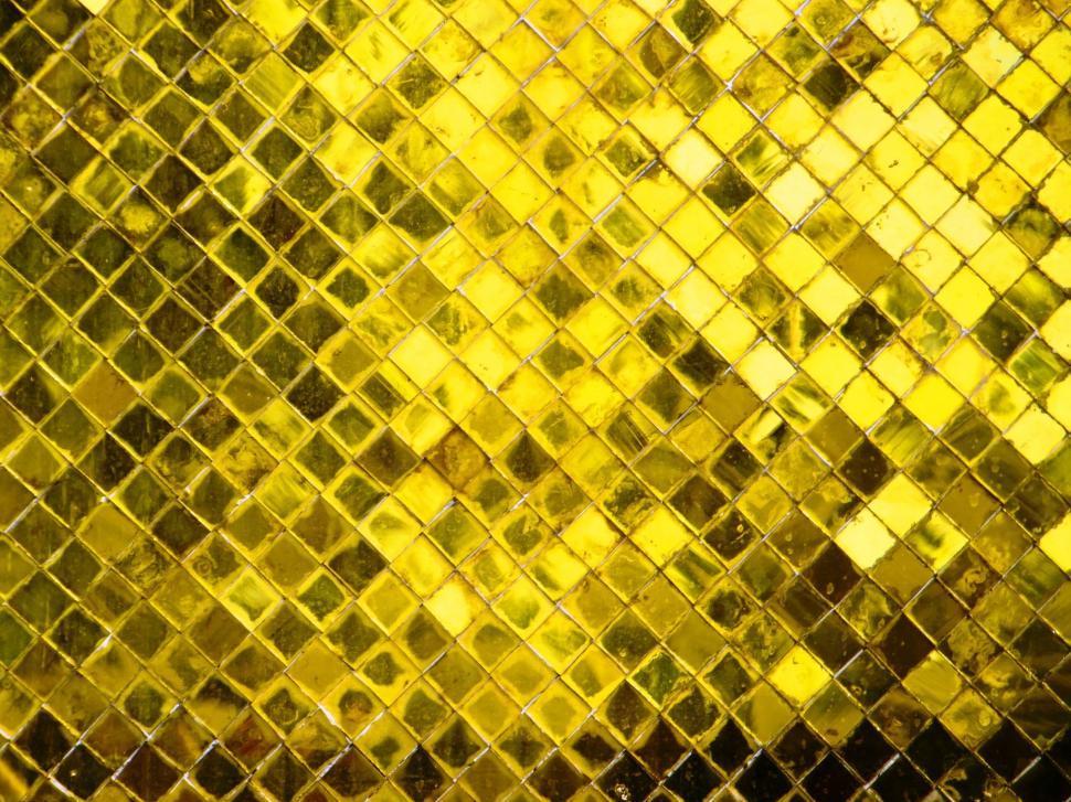 Download Free Stock Photo of Gold Diamond Texture