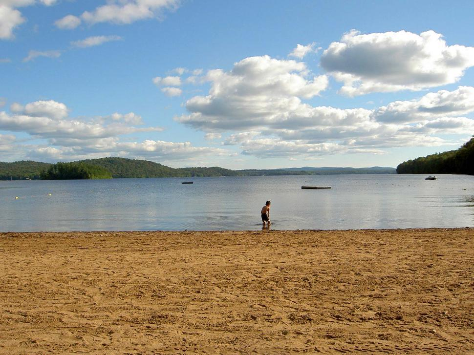 Download Free Stock HD Photo of Adirondack Lake in Late Summer Online