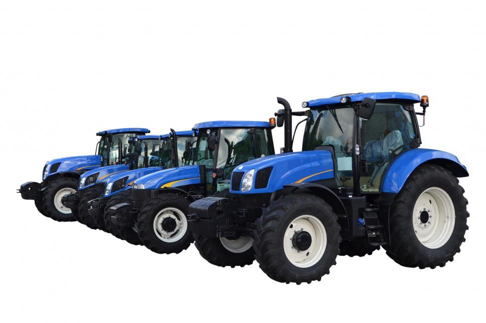 Download Free Stock HD Photo of Tractors isolated Online