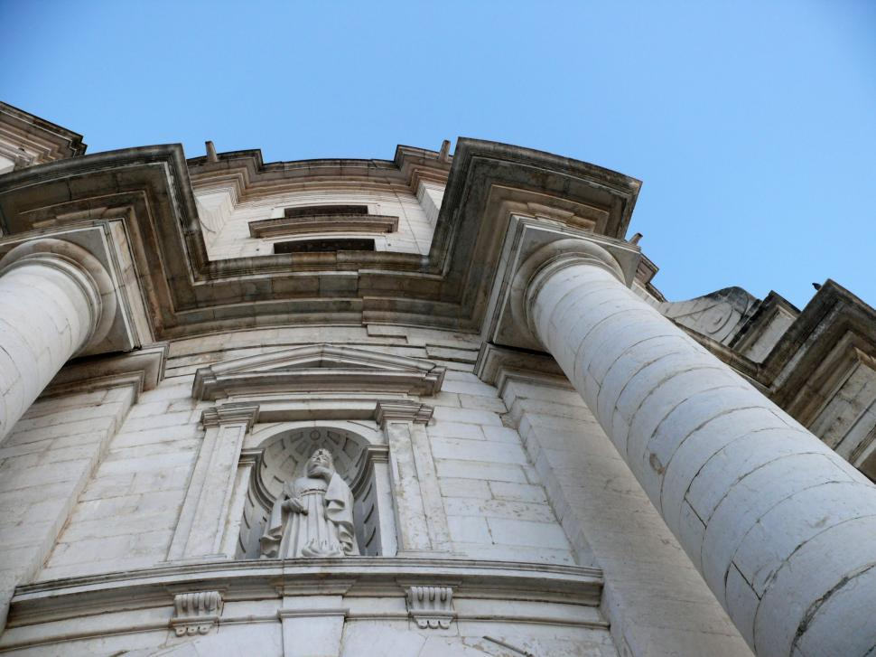 Download Free Stock HD Photo of National Pantheon Lisbon - Church of Santa Engracia Online