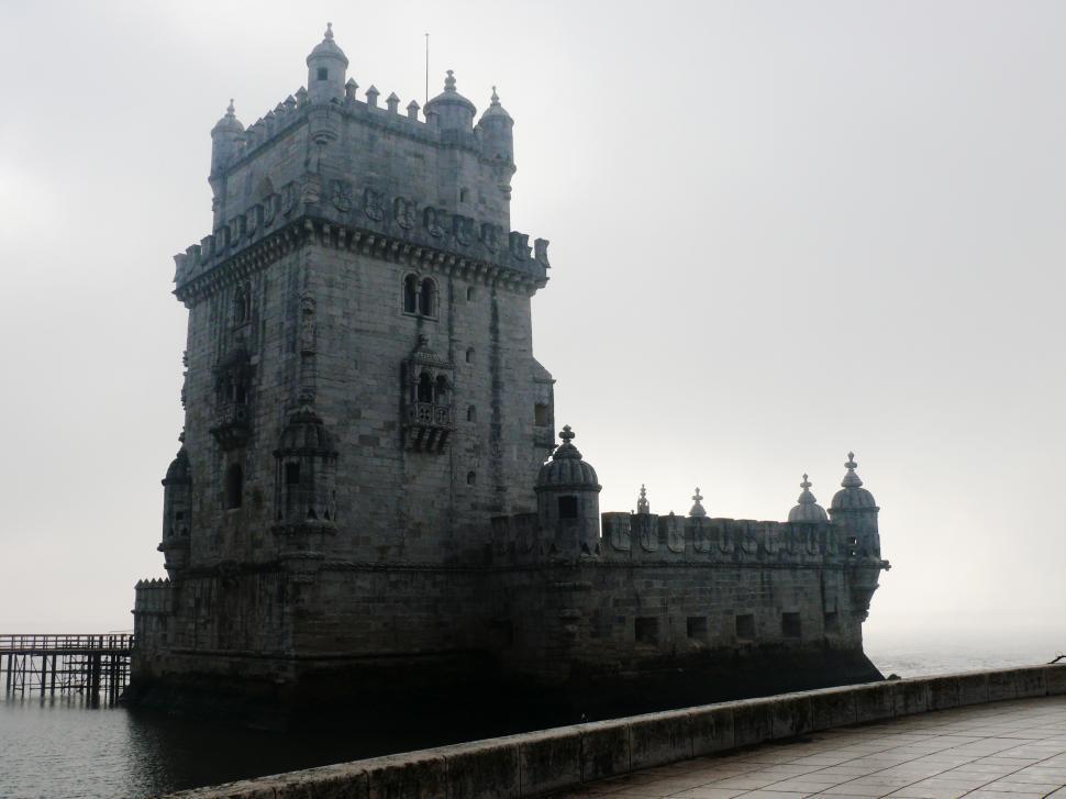 Download Free Stock HD Photo of Belem Tower - Torre de Belem - Lisbon - Portugal Online