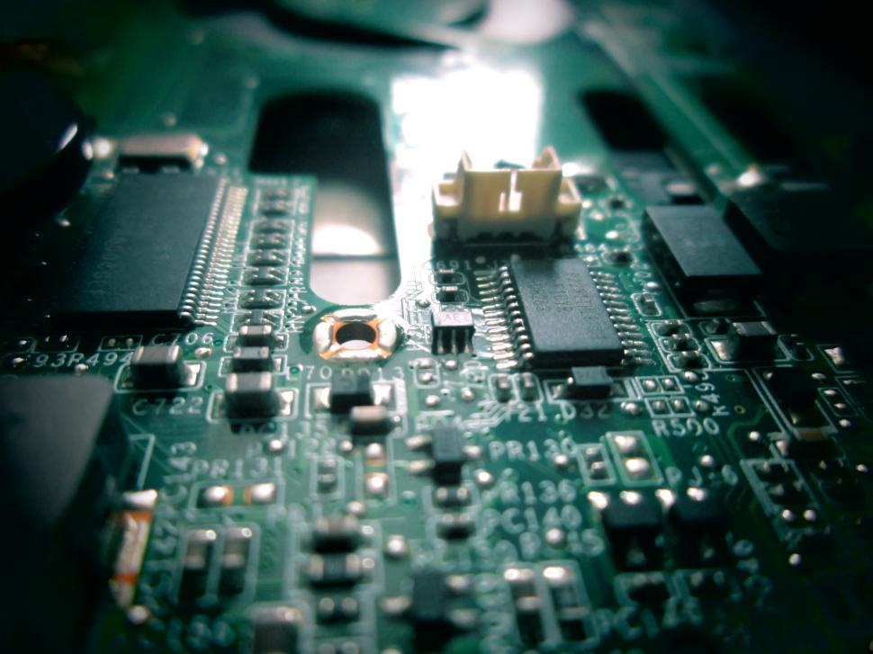 Download Free Stock Photo of Circuit Board