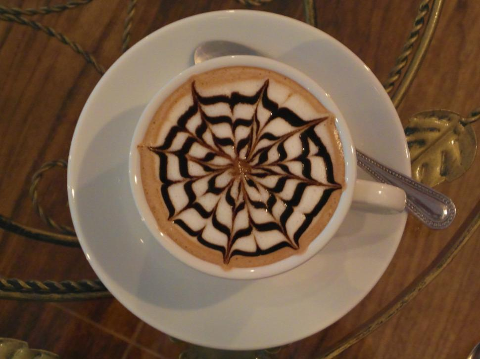 Download Free Stock HD Photo of Coffee Art Patterns Online