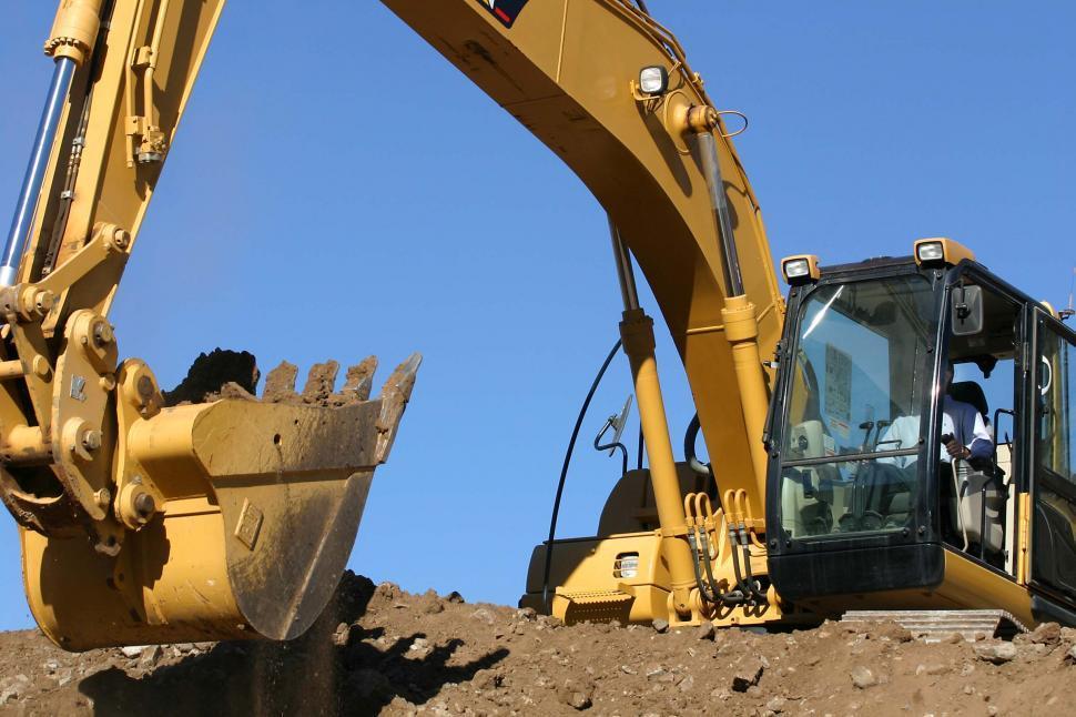 Download Free Stock HD Photo of Mining excavator Online
