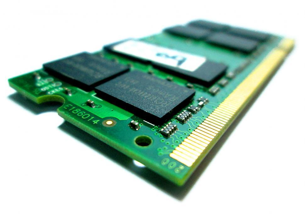 Download Free Stock Photo of RAM memory