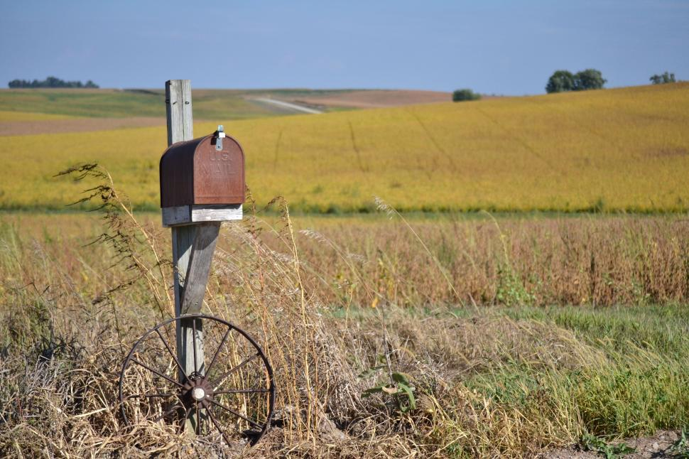 Download Free Stock Photo of Country Mailbox