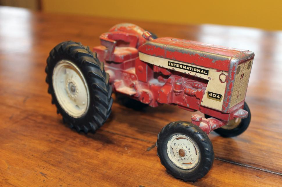 Download Free Stock HD Photo of International Toy Tractor Online