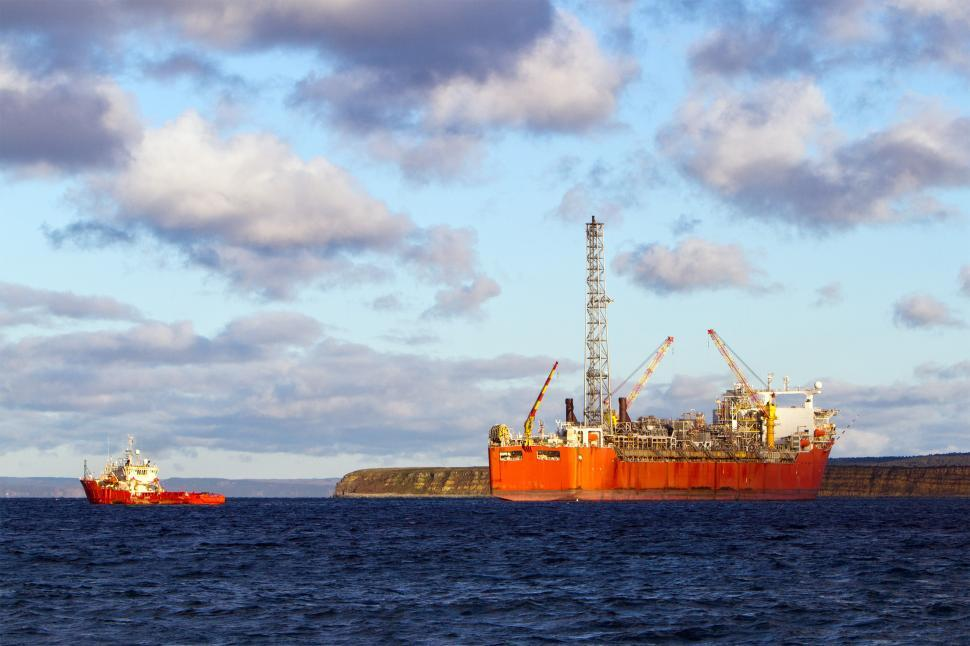 Download Free Stock Photo of FPSO; Floating Production and Storage and Offloading System