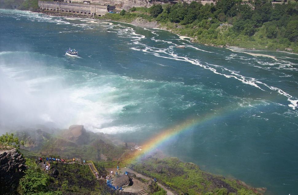Download Free Stock HD Photo of Rainbow River Niagara Online