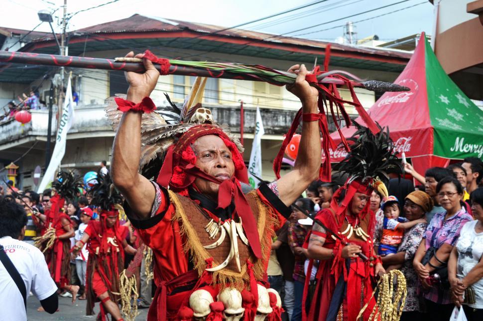 Download Free Stock Photo of Kabasaran Ceremony