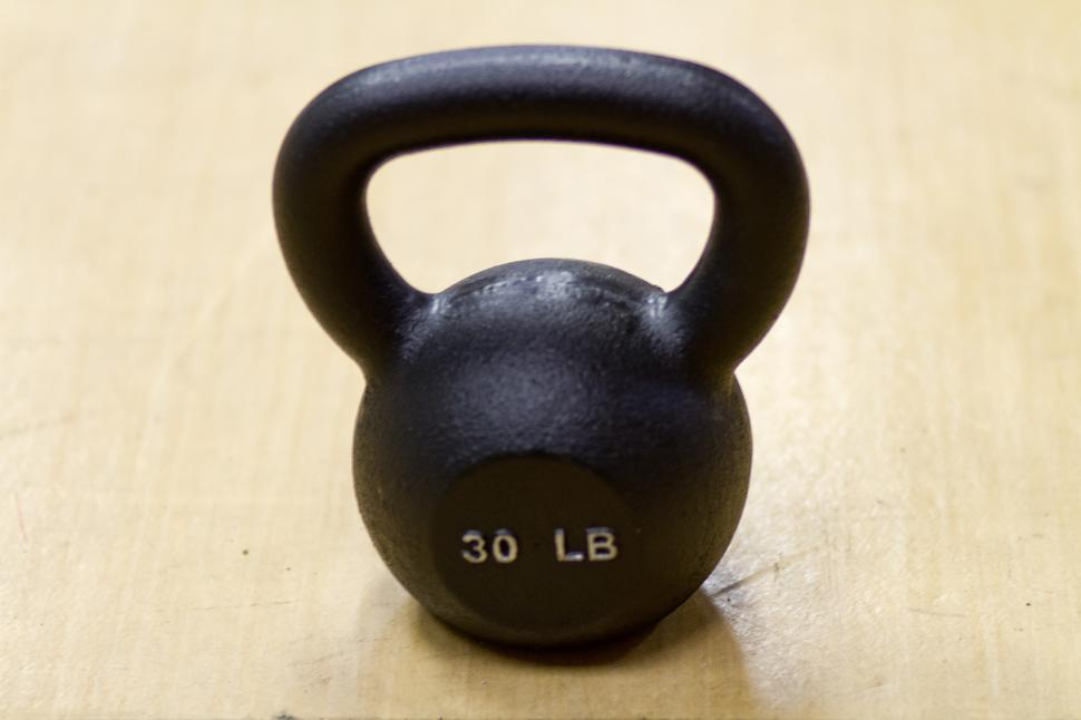 Download Free Stock HD Photo of Weight training - Kettlebell Online