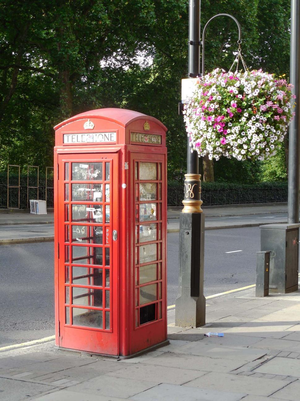 Download Free Stock HD Photo of London Telephone Booth Online