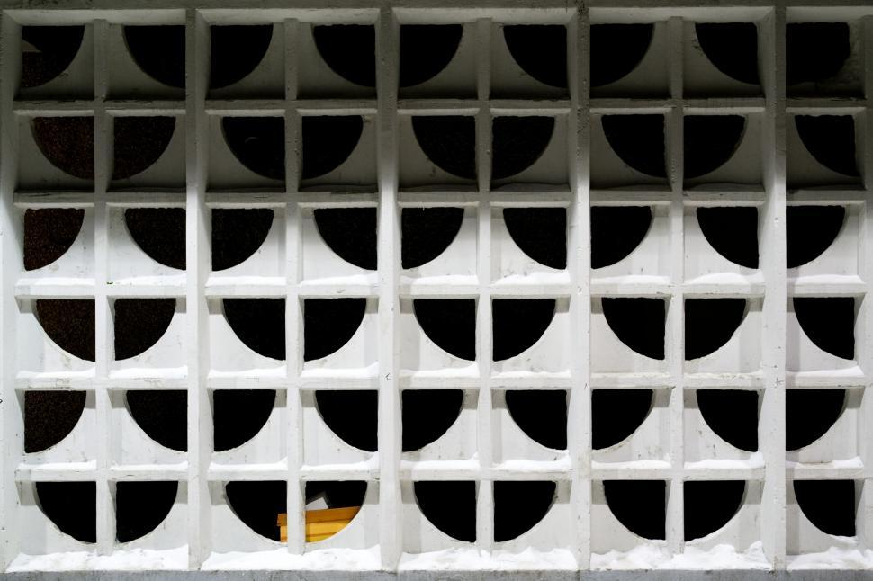 Download Free Stock Photo of Patterned concrete wall