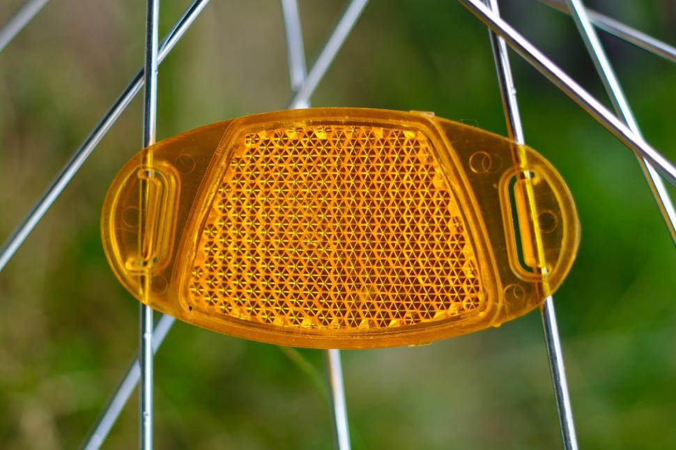 Download Free Stock Photo of Bicycle reflector