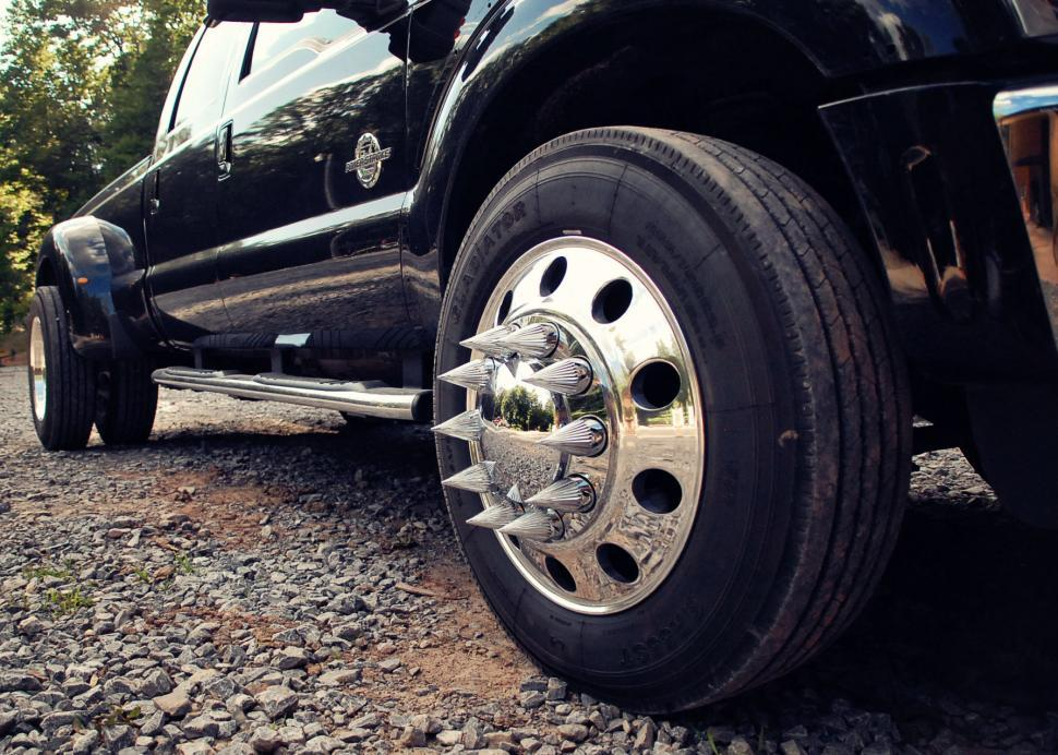 Download Free Stock Photo of Truck Wheel