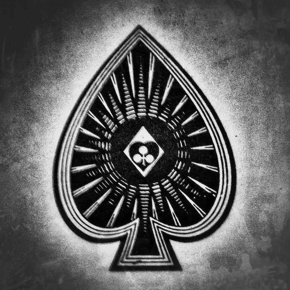 Download Free Stock Photo of Ace of Spades