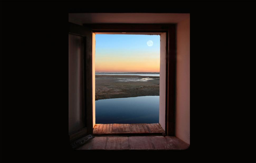 Download Free Stock HD Photo of Window onto the end of the day Online