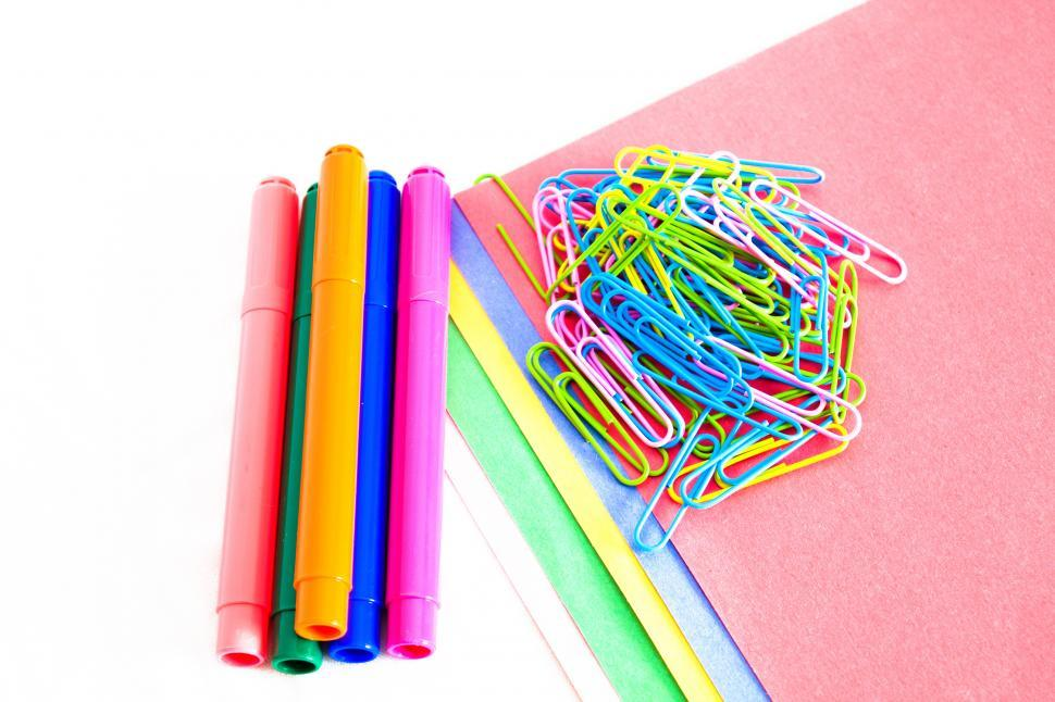 Download Free Stock HD Photo of School Supplies Online