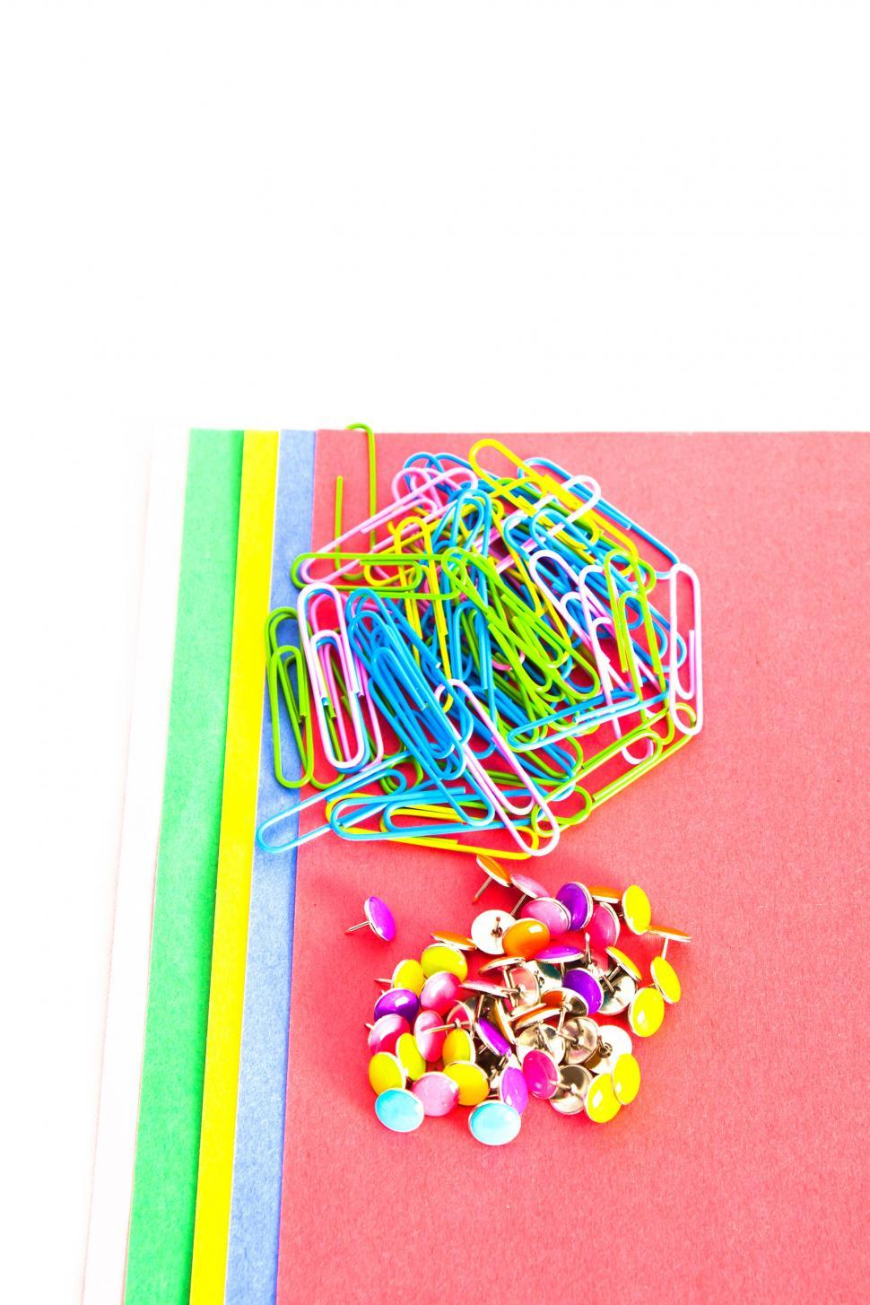 Download Free Stock Photo of School Supplies