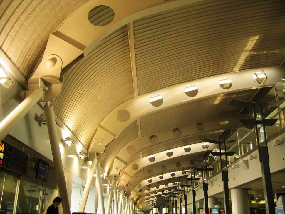 Download Free Stock Photo of Airport architecture